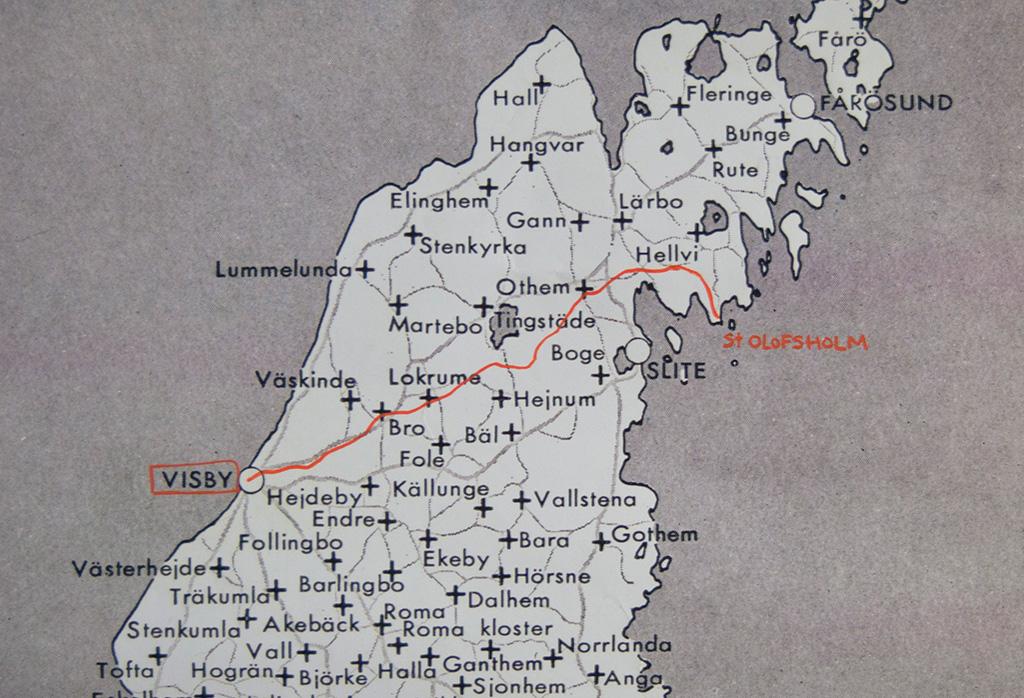 ekeby gotland karta Baltic Art Center EN PILGRIMSLED PÅ GOTLAND ekeby gotland karta